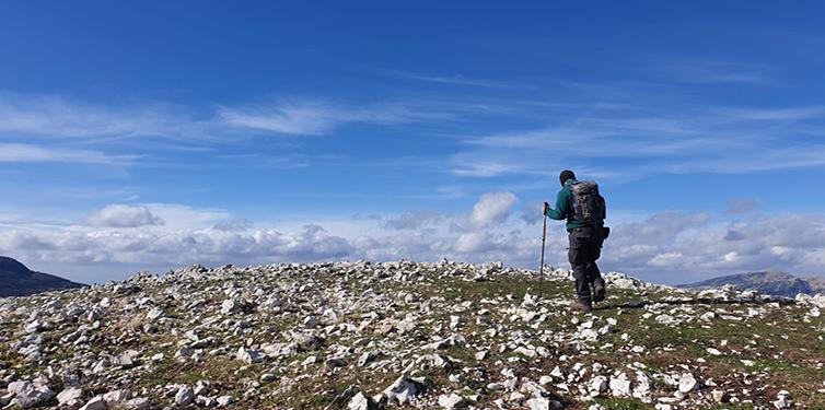 La vida es como subir una montaña