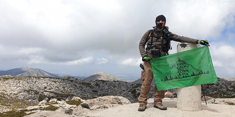 8 Cumbres contra la leucemia: Pico Mágina (Jaén)