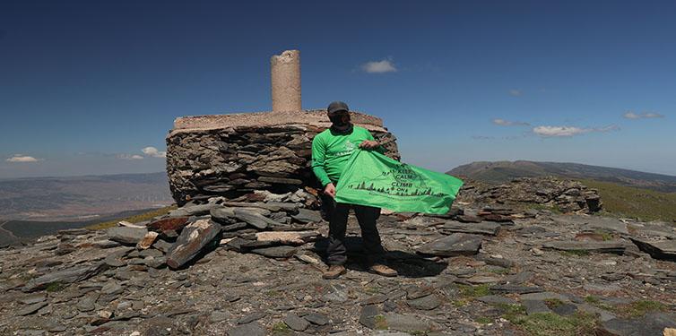 8 Cumbres contra la leucemia: Pico Chullo (Almería)