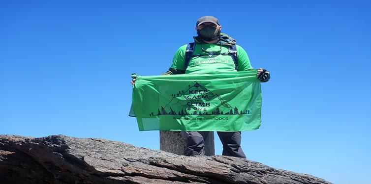 8 Cumbres contra la leucemia: Pico Mulhacén (Granada)